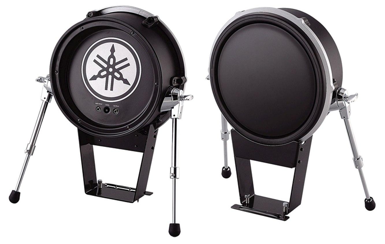 new yamaha kp125 electronic kick drum trigger pad ebay